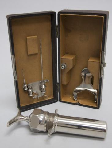 Pasteur syringe.