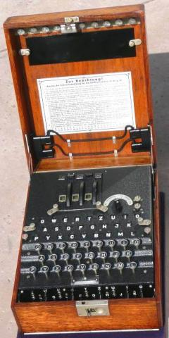 Cipher Machine (Picture courtesy of Ciphermachines.com)