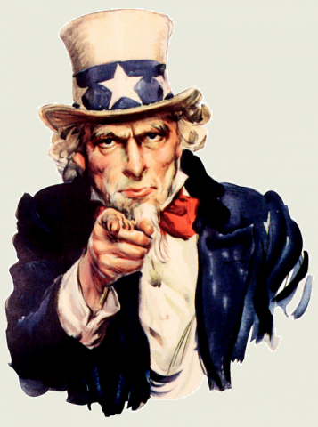 Uncle Sam Wants You image