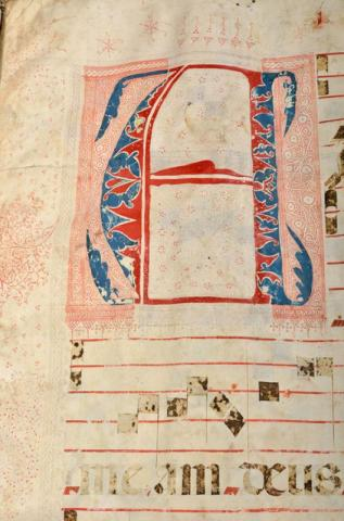 Illuminated Letter of the Antiphonale