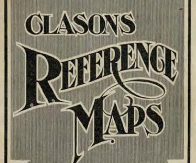 Clason's refrence Maps title page