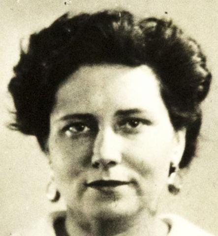 Doris Lessing's British Passport photo, late 1950s