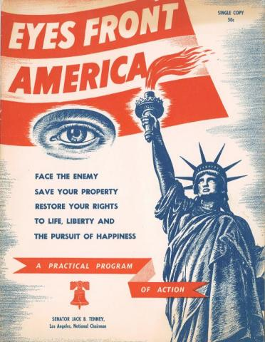Front cover of Eyes Front America