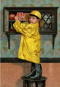 Raincoat Child