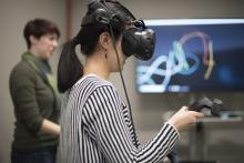 DSL Virtual Reality Room