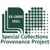 Library Logo, a book