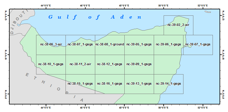 North Somalia 250K Index Diagram