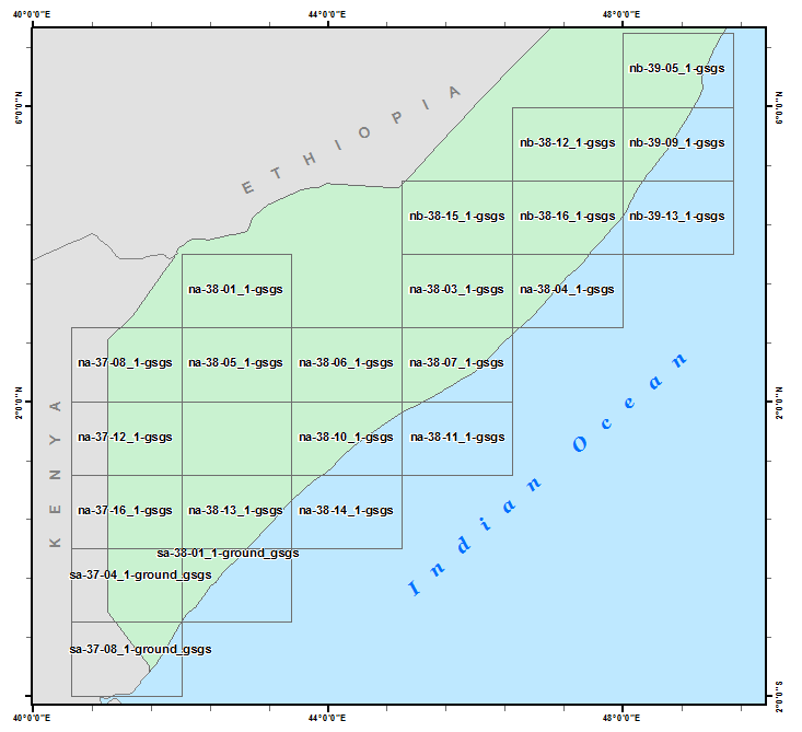 South Somalia 250K Index Diagram