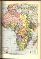 Carte Generale de l'Afrique, 1898