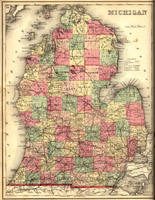 Michigan [Lower Peninsula], 1873