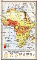 Africa Population, 1913