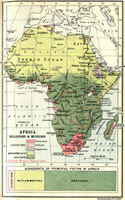 Africa Religions and Missions, 1913
