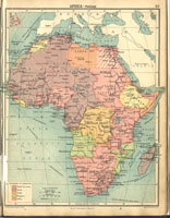 Africa - Political, 1922