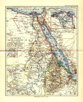 Ägypten Darfur und Abessinien, 1892