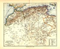 Algerien, Marokko und Tunis, 1892