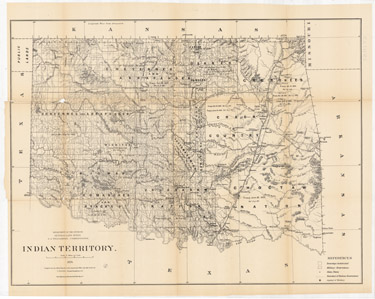 Indian Territory Compiled from the Official Records of the General Land Office and other Sources