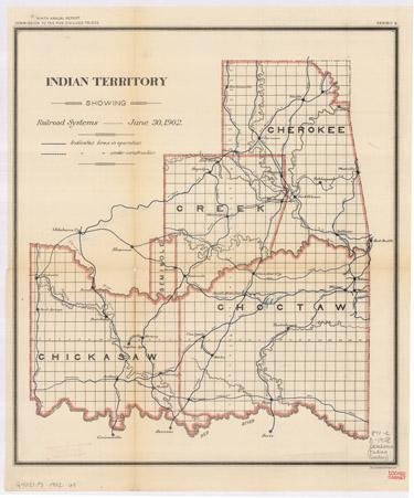 Indian Territory, 1902