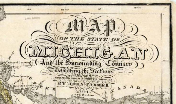 1864 Cartouche