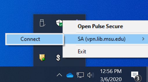 Connect to the MSUL VPN